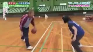 けやかけバスケ 1 on 1 エキシビションマッチ 澤部 vs 美穂 #渡邉美穂 #...