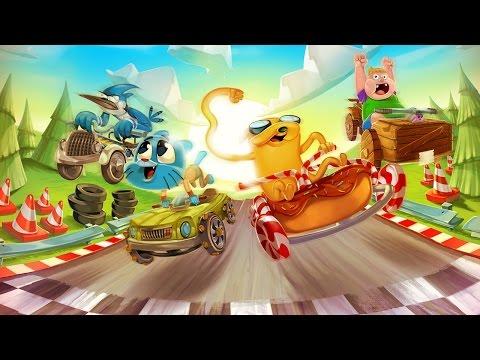 Formula Cartoon All Stars #01: Gumball Rei Da Corrida =D ToysGamesTV gameplay of Formula Cartoon All-Stars by Cartoon Network iTunes Link :