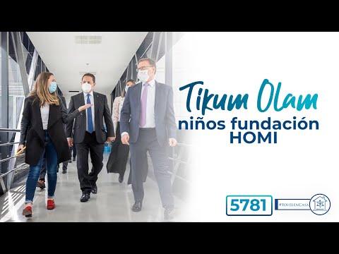 Tikun Olam con niños en Colombia