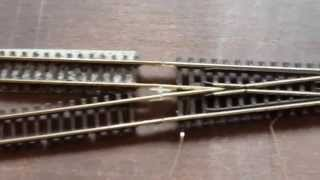 How to Wire Electrogfrog Crossing SL-E394F N Gauge for DCC