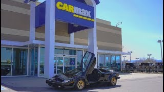 I Took A Lamborghini Countach To CARMAX For An Appraisal...