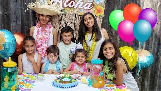 Hadil Happy Birthday party and Surprise from HZHtube Kids Fun