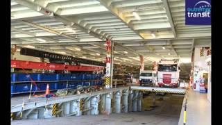 Le plus grand navire roulier du monde à la Réunion