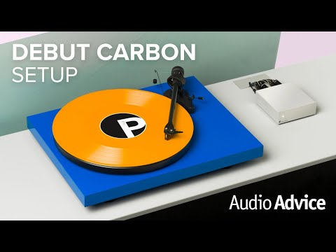 Pro-Ject Debut Carbon (DC) Turntable Setup