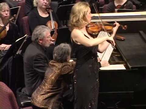 Elizabeth Pitcairn, violin Artie Kane, piano
