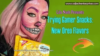 Trying Gamer Snacks: New Oreo Flavors
