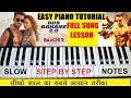 Dus Bahane 2.0   Baaghi 3   Tiger, Sharaddha, Piano Turorial With Notes