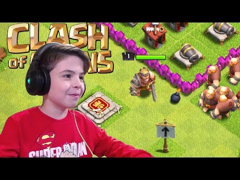 BARBARIAN KING & TOWN HALL LEVEL 8 UPGRADE - Clash Of Clans