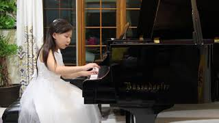 """2017 Piano Group II:First Prize:Claire Rong,9 - Prokofiev """"Prelude Op.12 No.7, Harp"""""""