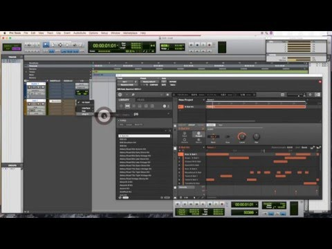 Native Instrument Maschine Tutorial #1 How to record sounds on Maschine into Protools tracks