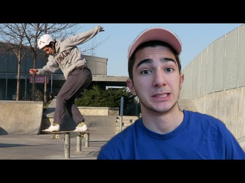 HOW TO COMMIT WHEN SCARED - Get Better at Skateboarding