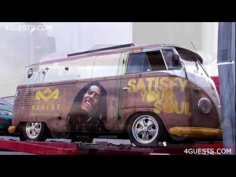 Bob Marley Van ~ 1963 Volkswagen Van ~ House of Marley Tour Bus