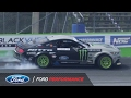 Vaughn Gittin Jr. and Ford Mustang RTR Grab 4th in Orlando   Formula DRIFT   Ford Performance