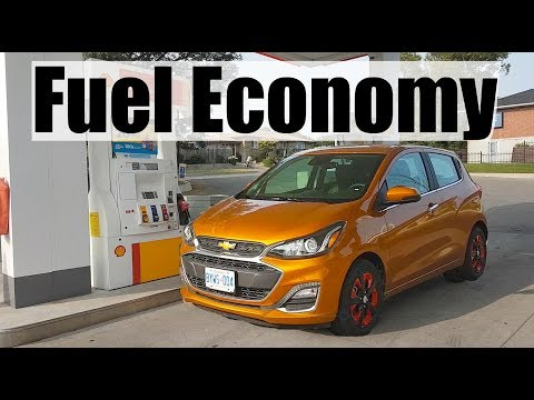 2019 Chevrolet Spark - Fuel Economy MPG Review + Fill Up Costs