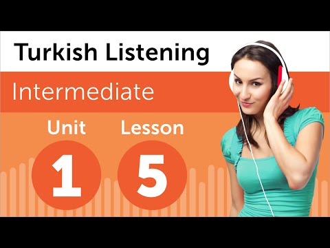 Turkish Listening Practice - Shopping for an Outfit in Turkey