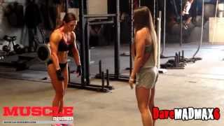 Training With Ms.Olympia Fitness Oksana Grishina