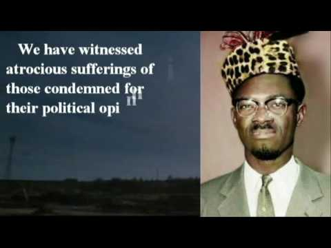 Congo's Independence Speech by Patrice Lumumba