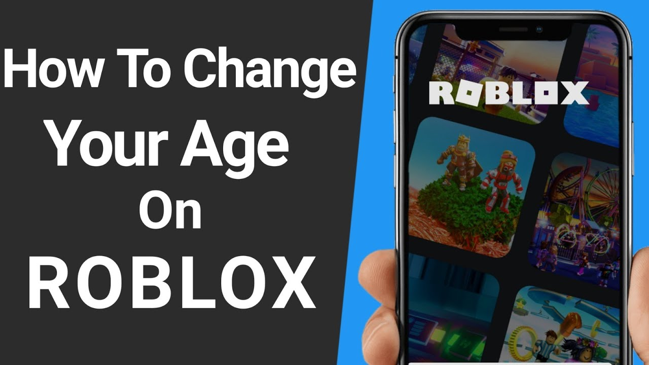 How To Change Your Age On Roblox 2021 How To Change Your Birthdate On Roblox Youtube