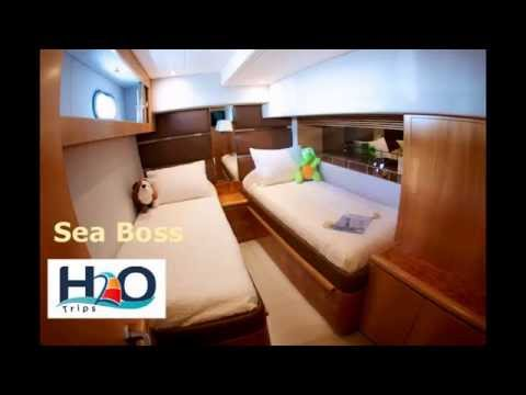 H2O Trips visits charter yacht Sea Boss at the BVI Boat Show