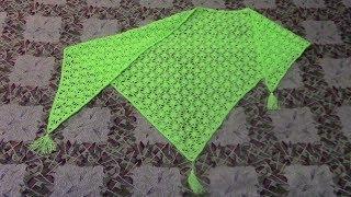 Вязание бактуса или маленькой шали  Часть 4 из 4