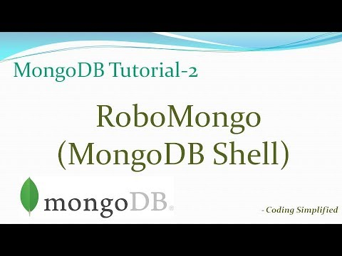 MongoDB Tutorial-2: RoboMongo Query Admin UI (MongoDB shell)
