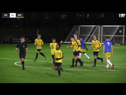 Highlights | Sussex Schools U18 2-1 Hampshire Schools U18 - 07.12.18