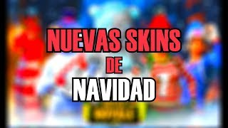 *THE NEW CHRISTMAS SKINS IN FORTNITE!*