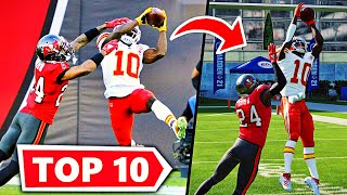 RECREATING THE TOP 10 PLAYS FROM NFL WEEK 12!! Madden 21 Challenge