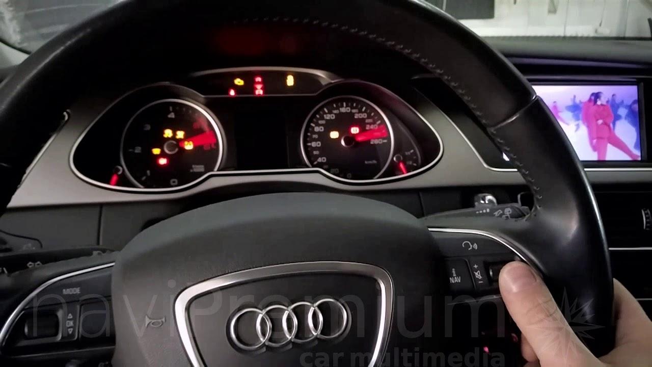 Radio Audi A4 B8 Nawigacja Android Gps Radio Navipremium Youtube