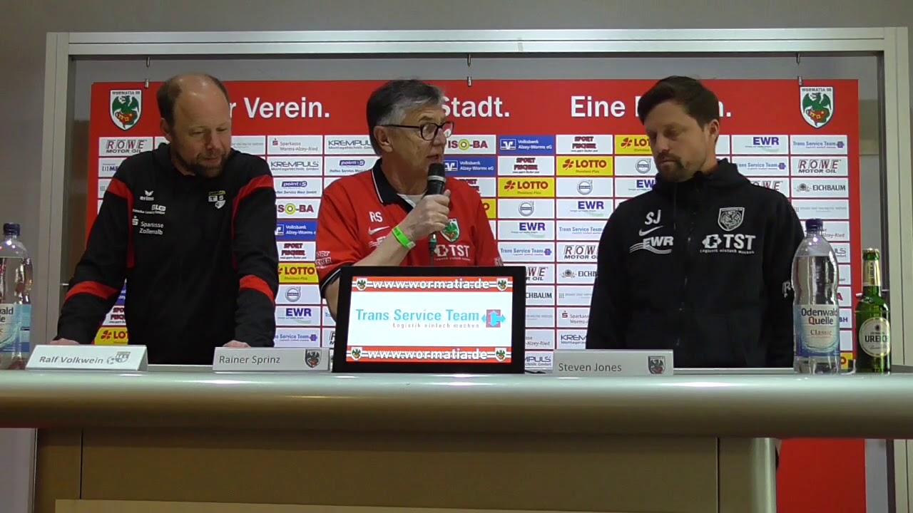 21+ TSG spielt 88 in Worms Griffiger Aufsteiger verpasst ersten ... Image