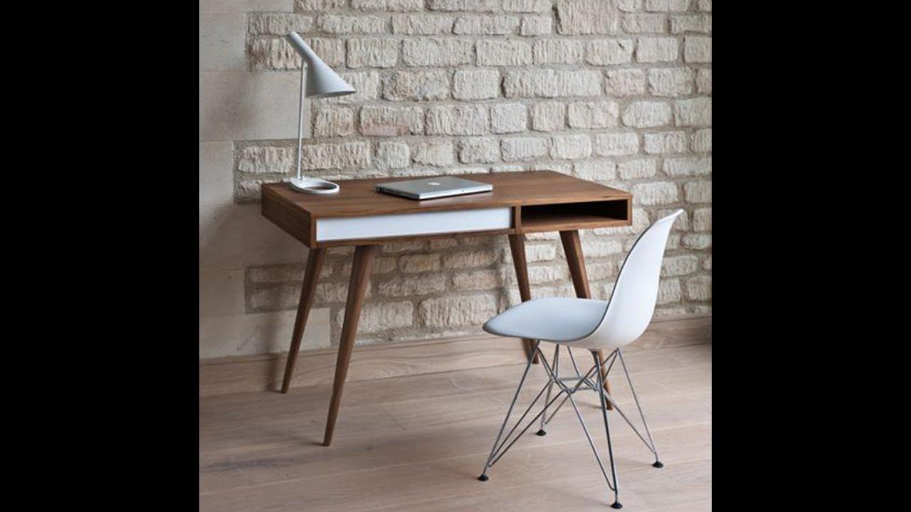 Video quảng cáo bàn làm việc theo phong cách tối giản