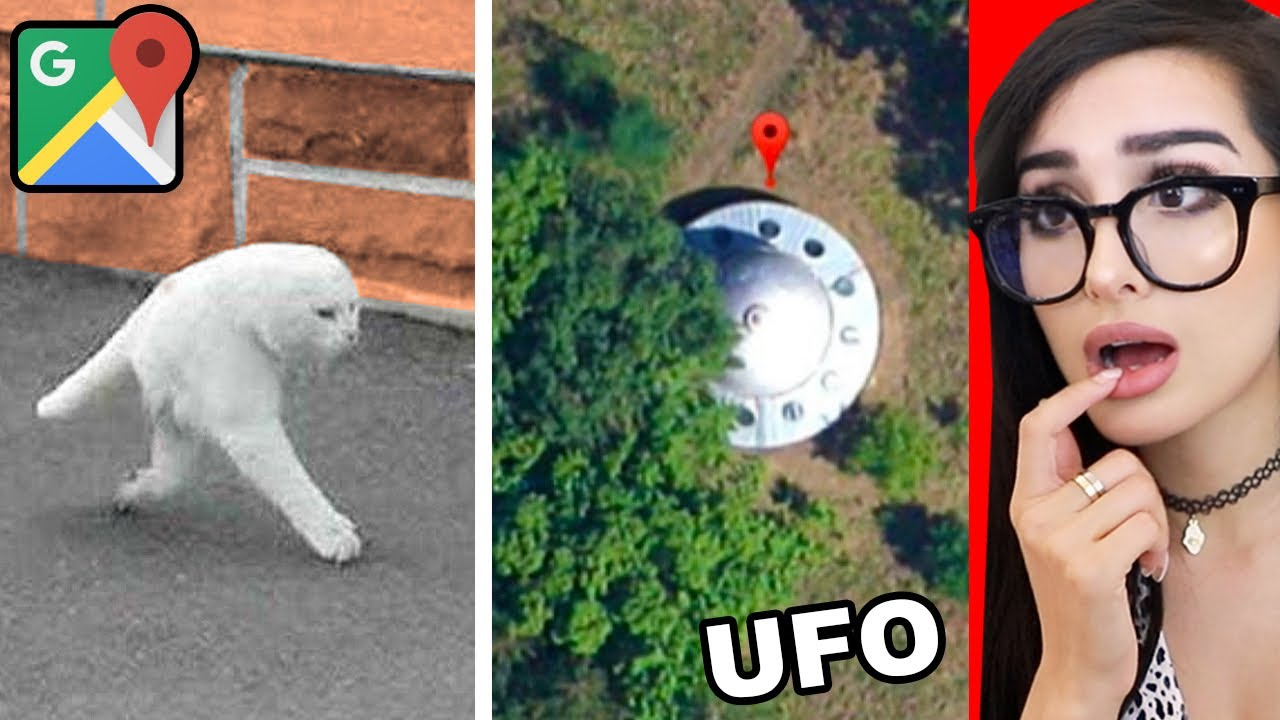 Download Weird Things Spotted On Google Maps