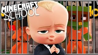 Minecraft School - BOSS BABY GOES TO PRISON!