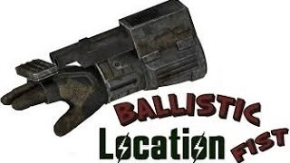 fallout new vegas how to get the ballistic fist