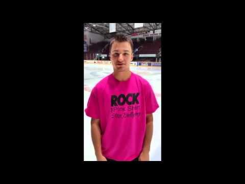 A Message from OHL Top Scorer Kevin Labanc #RockThePinkShirt