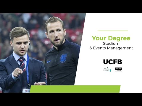 BA (Hons) Stadium & Events Management at UCFB