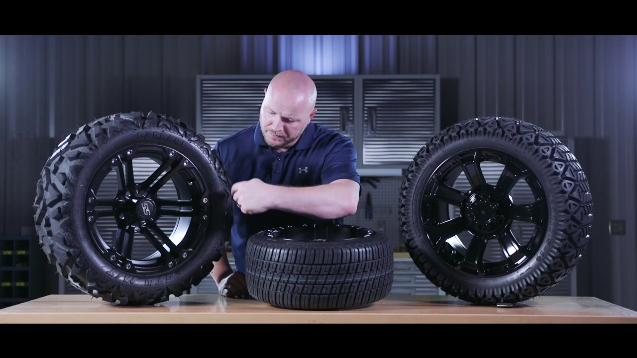 Golf Cart Tires And Wheels Buggiesunlimited Com