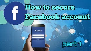 How to secure your facebook account  2018 in Hindi   enable Two step authentication  D Tech