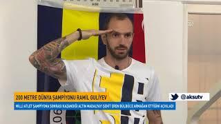 200 Metre Dünya Şampiyonu Ramil Guliyev