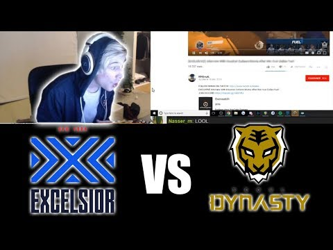 xQc WATCHES My Video On Stream| NYXL Vs Seoul Dynasty SF Shock vs Dallas Fuel Predictions and more!