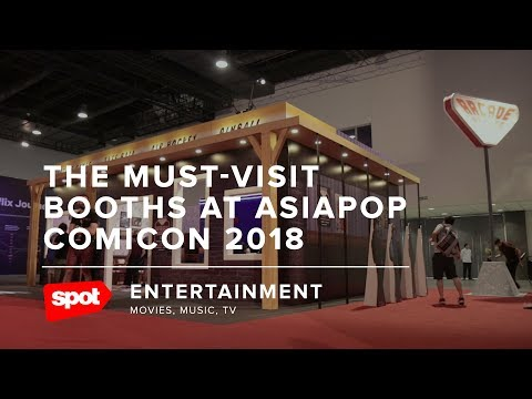 The Must-See Booths at AsiaPOP Comicon 2018
