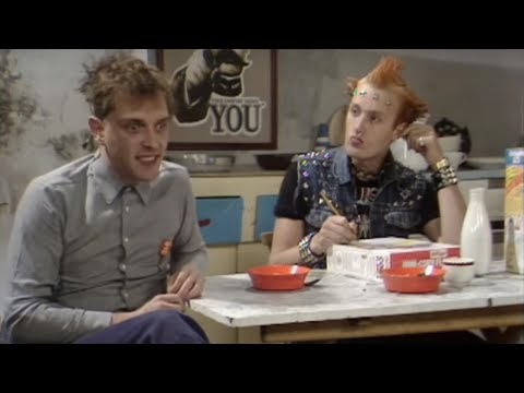 Boring Cornflakes - The Young Ones - BBC