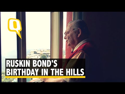 The Quint Visits Writer Ruskin Bond at His Home in the Hills