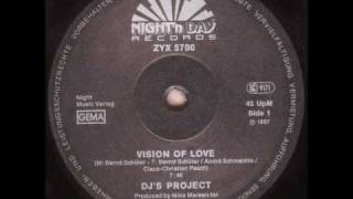 DJ'S PROJECT - VISION OF LOVE (VOCAL VERSION) (℗1987)