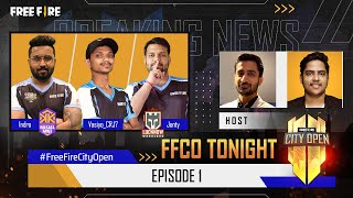 Free Fire City Open Tonight | FFCO