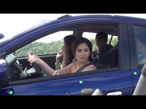 Sarah Geronimo Exclusives - Behind the Camera Toyota Shoot
