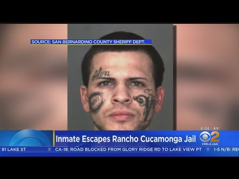 Inmate Breaks Out Of San Bernardino County Detention Center
