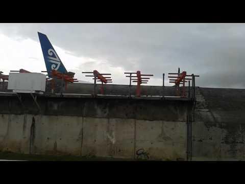 Rarotonga jetblast