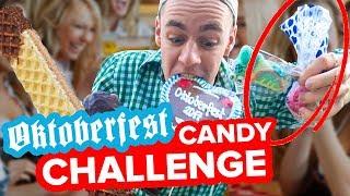 OKTOBERFEST CANDY CHALLENGE - EXPERIMENT || Flowest