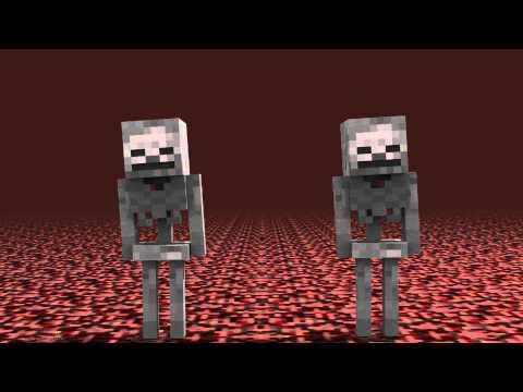 Spooky scary skeleton (minecraft animation)